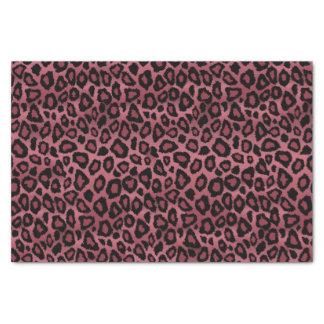 Poster de animal rose et noir poussiéreux profond papier mousseline