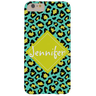 Poster de animal turquoise coque iPhone 6 plus barely there