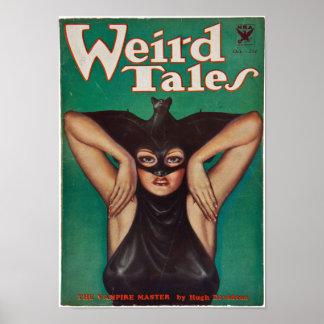 Poster De contes étranges -- Le maître de vampire