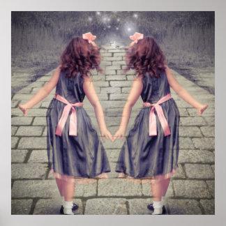 Poster de Gémeaux de meilleurs amis filles jumelles
