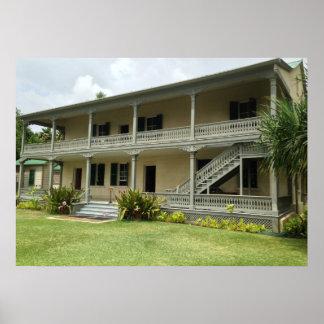 Poster De retour du palais de Hulihe'e, Kailua Kona,