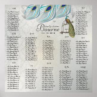 Poster Débuts à $13,20 Tableaux de places assises du