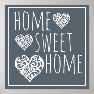 Poster Décor à la maison doux à la maison