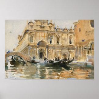Poster Dei Mendicanti, Venise de John Singer Sargent - de