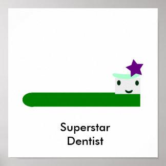 Poster Dentiste de superstar