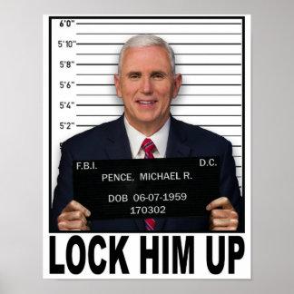Poster Des penny de Mike - enfermez-le