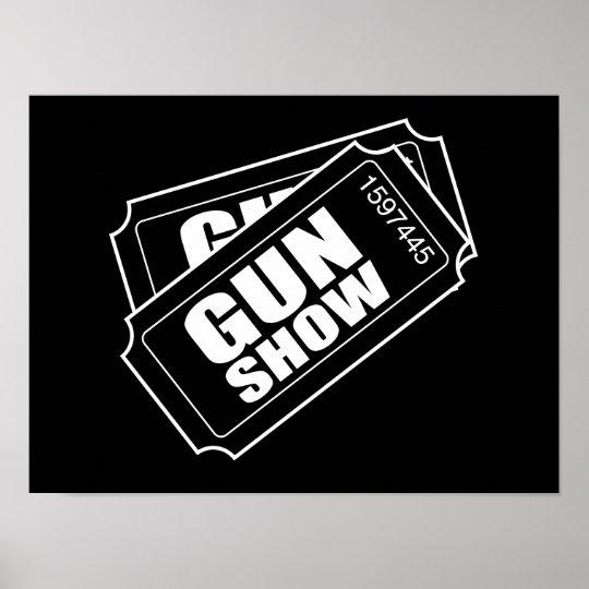Poster deux billets au salon d 39 armes feu for Billet salon