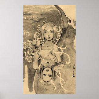 Poster Deux côtés de femme