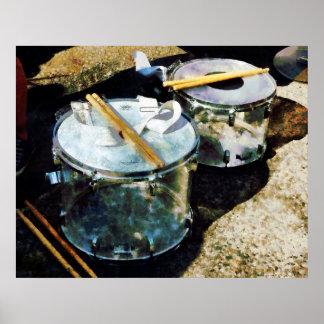 Poster Deux tambours de piège