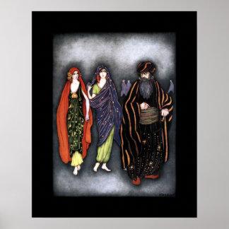 Poster ~ d'histoire pour endormir de ~ de contes de fées