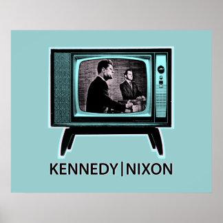 Poster Discussion 1960 de Kennedy Nixon