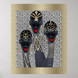 Poster Divas tribales de charme