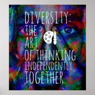 Poster Diversité.