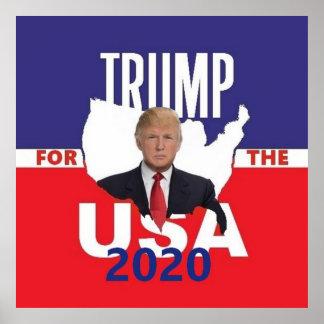 Poster Donald Trump 2020