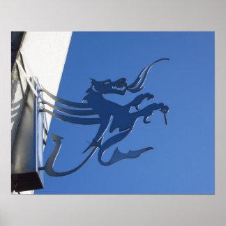 Poster Dragon de Cardiff