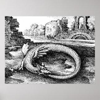 Poster Dragon d'Ouroboros