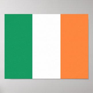 Poster Drapeau de l'Irlande