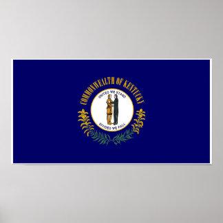Poster Drapeau d'état du Kentucky