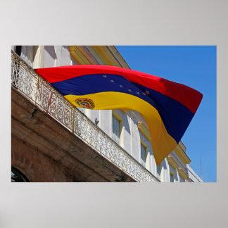 Poster Drapeau du Venezuela