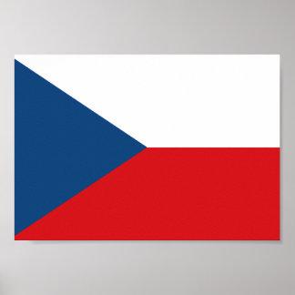 Poster Drapeau tchèque