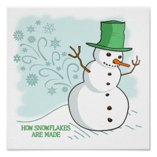 Mignon Bonhomme de neige caca Autocollants x 42 #20