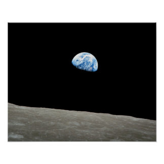"Poster Earthrise 16"""" copie x20"