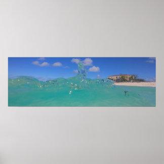 Poster Éclaboussure d'île