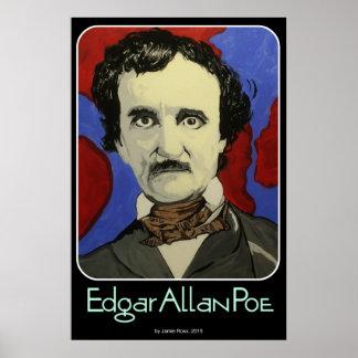 Poster Edgar Allan Poe sur a