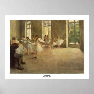 Poster Edgar Degas