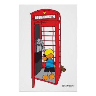 Poster Edu à Londres