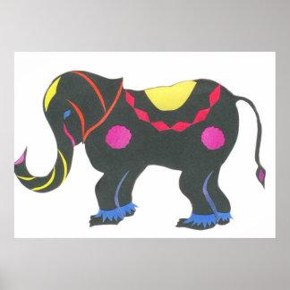 Poster Éléphant