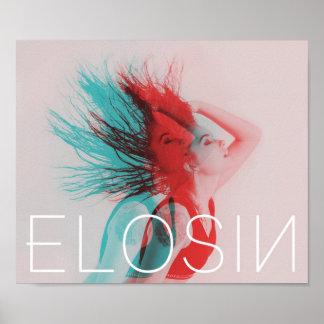 Poster ELOSIN Deux-A modifié la tonalité l'affiche de mur