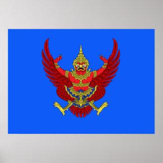 Poster Emblème thaïlandais