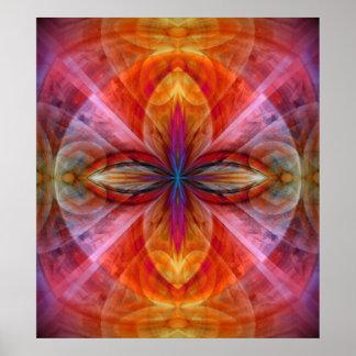 Poster Empire de la fleur de Sun