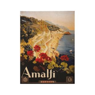 Poster En Bois (1910-20) affiches vintage de voyage de l'Italie