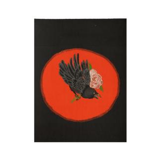 Poster En Bois Affiche de Raven