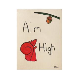 Poster En Bois But haut