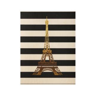 Poster En Bois Copie d'Eiffel