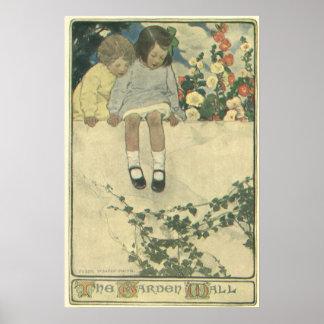 Poster Enfants vintages, mur Jessie Willcox Smith de