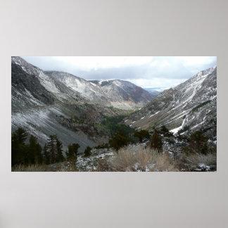 Poster Entraînement par la sierra montagnes de Milou de