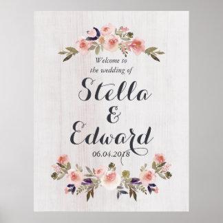 Poster Épouser le signe bienvenu