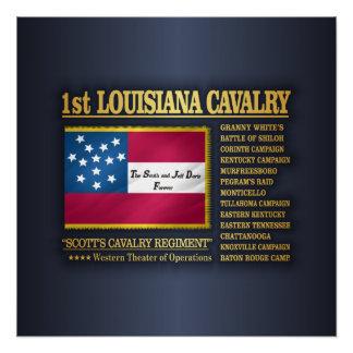 Poster ęr Cavalerie de la Louisiane (BA2)