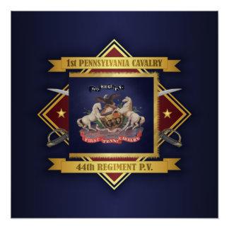 Poster ęr Cavalerie de la Pennsylvanie