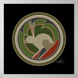 Poster Esprit de lapin