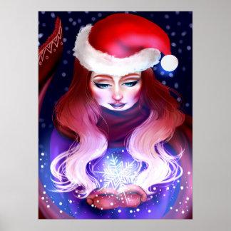 Poster Esprit de Noël