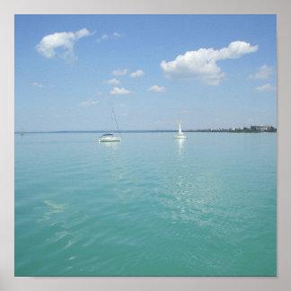 Poster Été chez le Lac Balaton