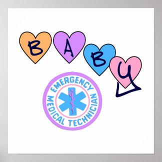 Poster Étoile de bébé d'EMT de la vie