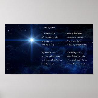 Poster Étoile du soir