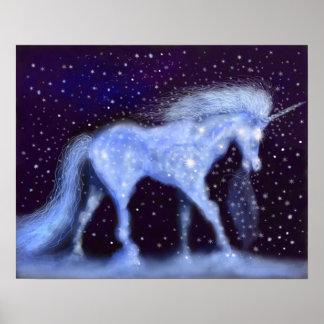 Poster Étoiles de licorne
