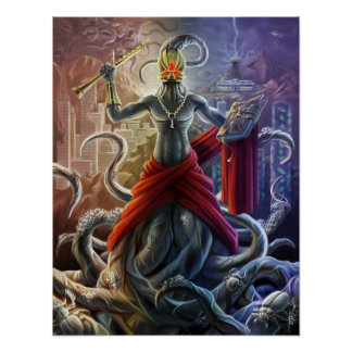 Poster Évangile de Nyarlathotep